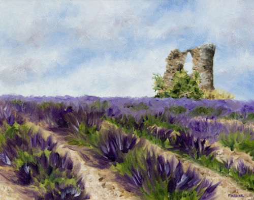 Windmill Ruins in Provence