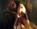 Painting--Oil-AllegoricalFables