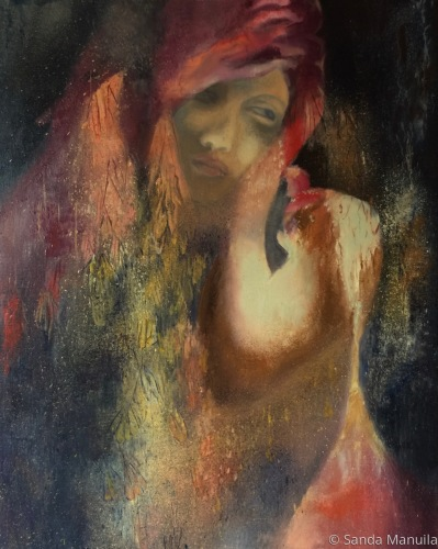 Painting--Oil-AllegoricalRemembrance