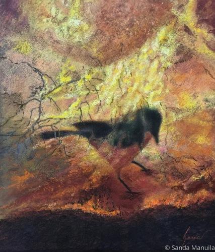 Painting--Pastels-AllegoricalVulnerable