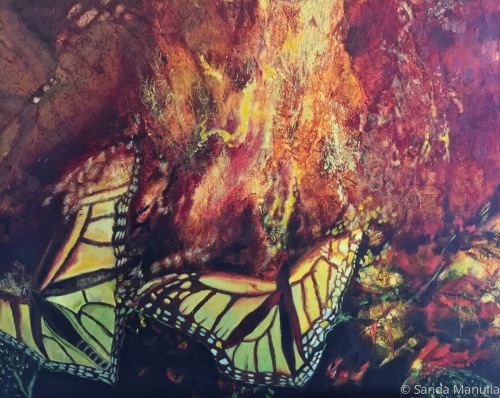 Im-Migration Series: Dead End by Sanda Manuila