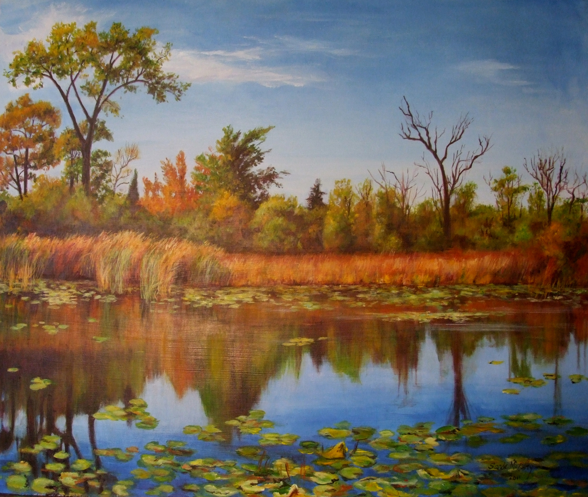Autumn at the Marsh (large view)