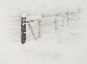 SNOW ON FENCE (thumbnail)