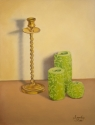 Candle Stick with candles (thumbnail)