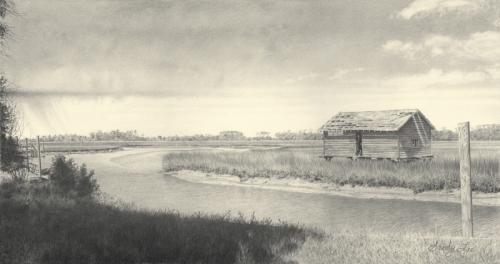 BOATHOUSE ON BALD HEAD ISLAND (thumbnail)
