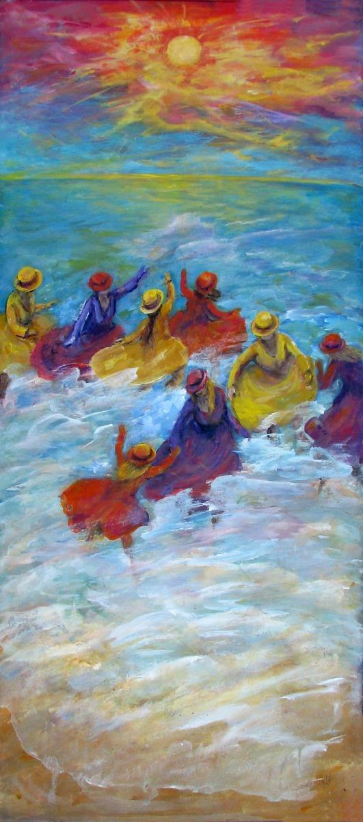 #43 Surf Dancers (large view)