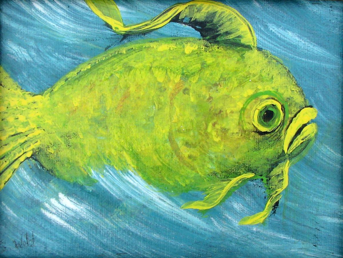 fantasy, fun, humorous, sea life, ocean, one big fish (large view)