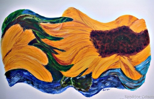 Sunflower Wave