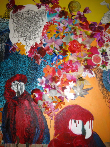 Garuda, Manu & The Cold Side Of The Pillow (Detail) (2008)