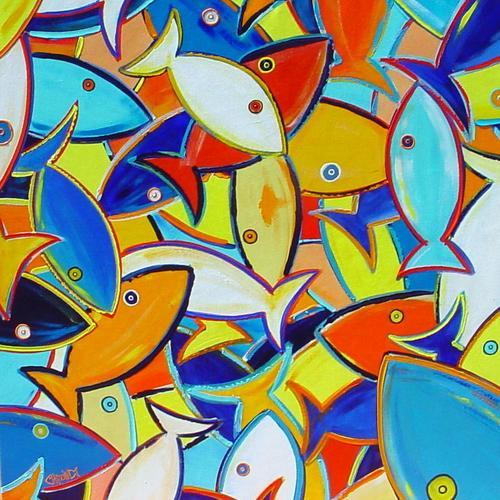 Basket of Fish #3 (large view)