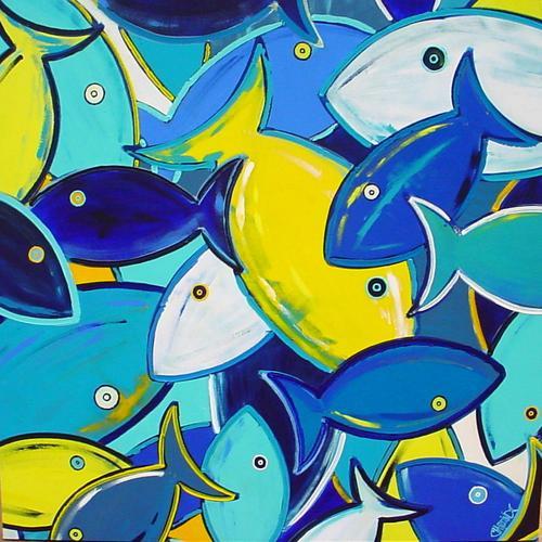 Basket of Fish #5 (large view)