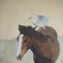 Horse with Bird, Melinda Hoffman.com (thumbnail)