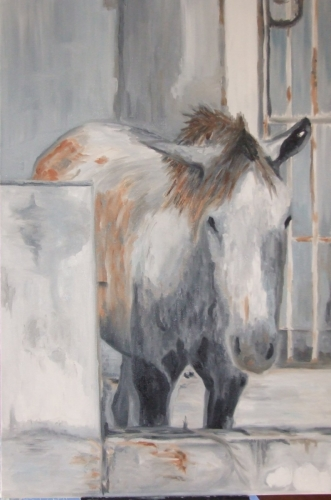 Gray Horse, MelindaHoffman.com (large view)