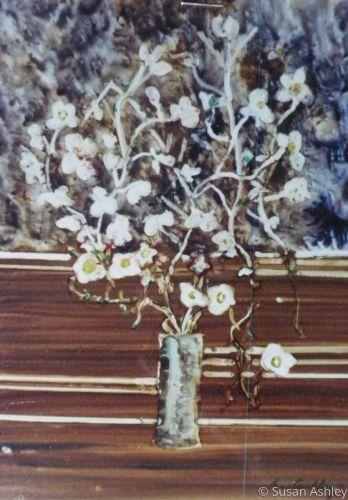 Ikebana with Dogwood