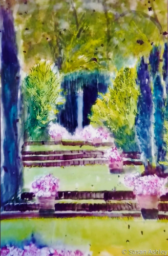 Garden of Golden-Age by Ashley Fine Arts