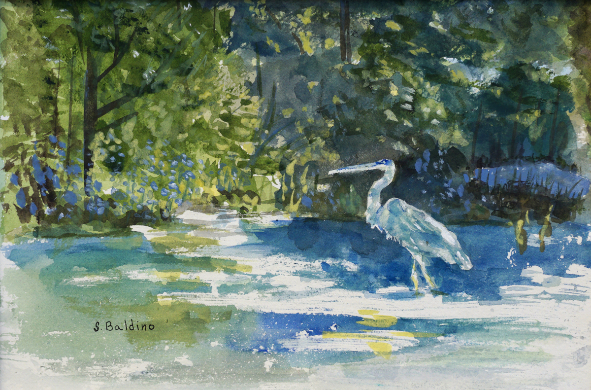 Annette's Heron (large view)