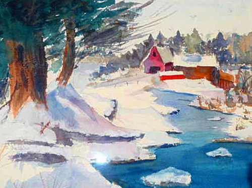 Winter Scene (large view)