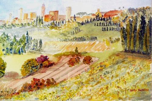 Tuscan Landscape (large view)