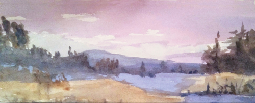 Mountain View by Sally Baldino