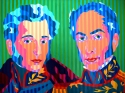 Antonio Jose de Sucre and Simon Bolivar (thumbnail)