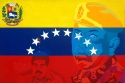Venezuelan Flag criticizing Nicolas Maduro and Hugo Chavez (thumbnail)