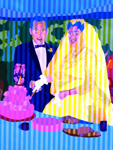 Mr. and Ms. Diaz Wedding Anniversary Painting