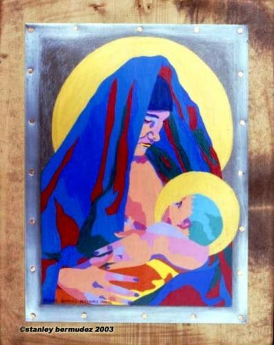 Virgen Maria (retablo)