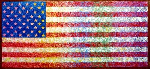 American Flag II (thumbnail)