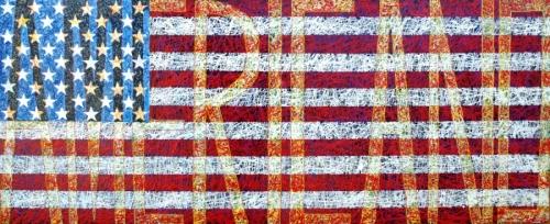 American Flag III by Stanley Bermudez (thumbnail)