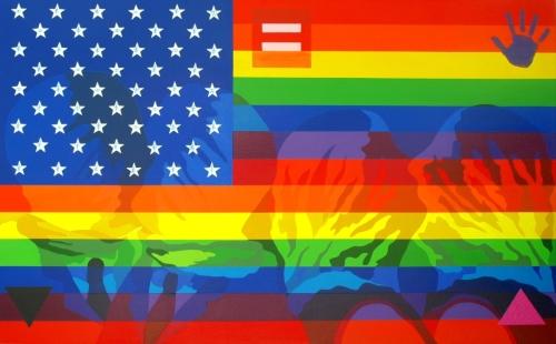 Rainbow Flag II by Stanley Bermudez