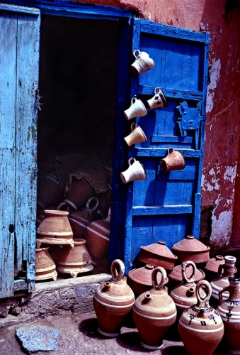 Door With Cups