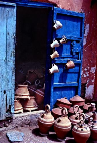 Door With Cups