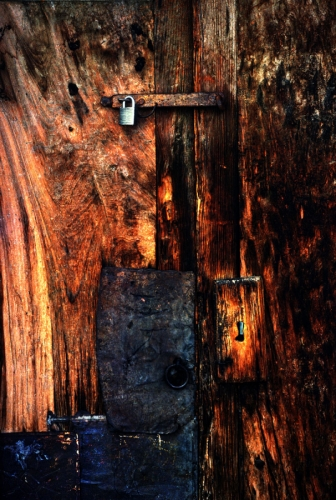 Old Door New Lock