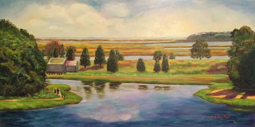 The Salt Pond, Eastham, MA