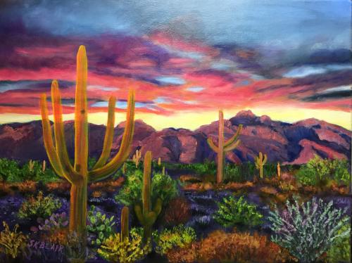 Saguaro Cactus Sunrise