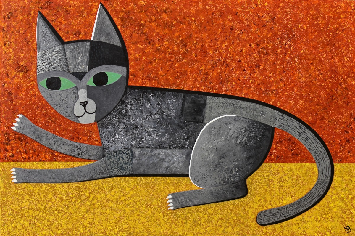 Grey Cat (large view)