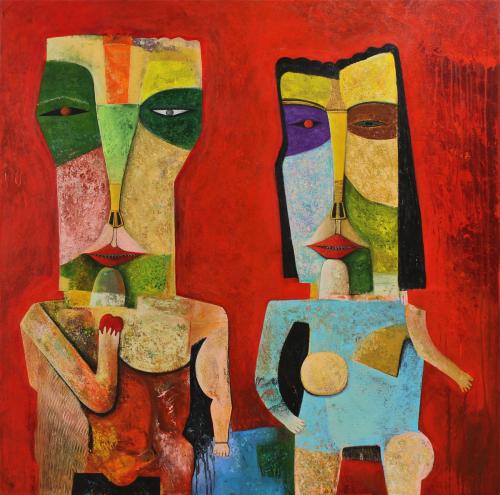 Adam and Eve by Soren Bouzon