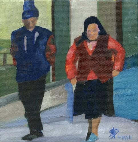Serbian couple