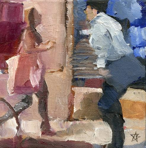 2 figures, Meyran Avenue