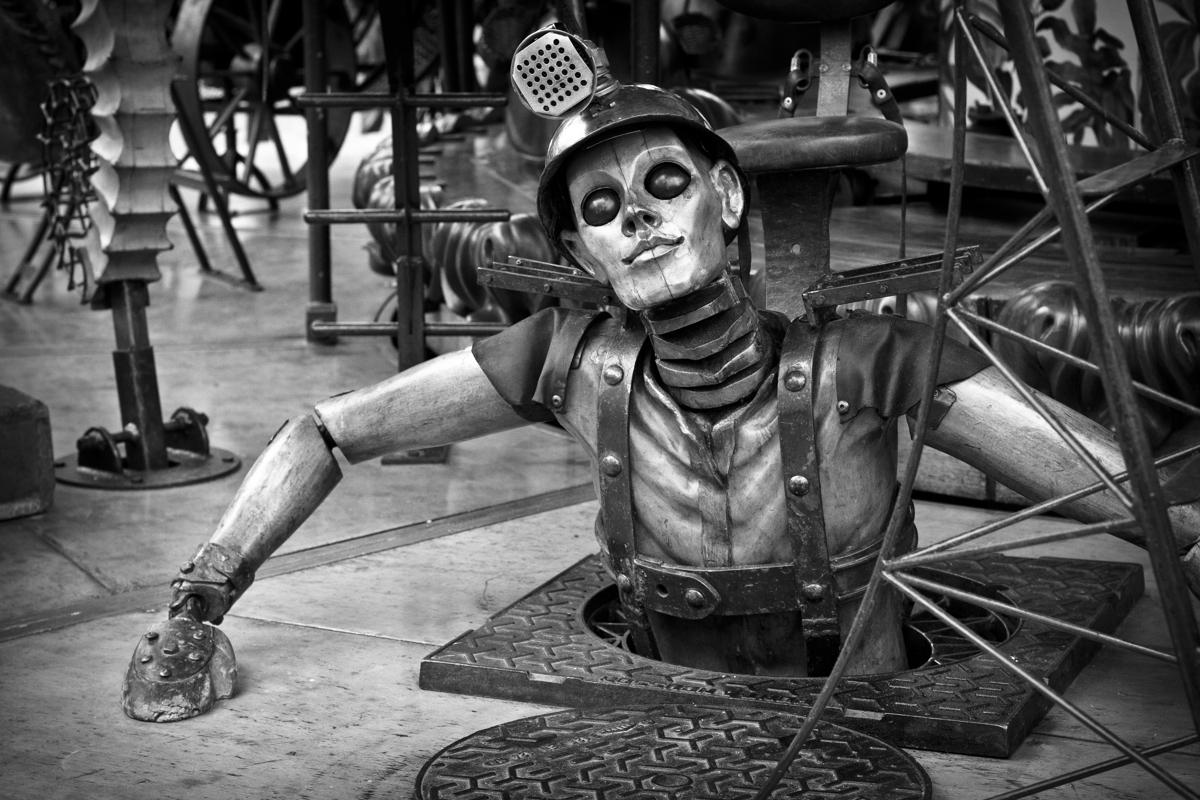 photography automaton original art by scott brill photography