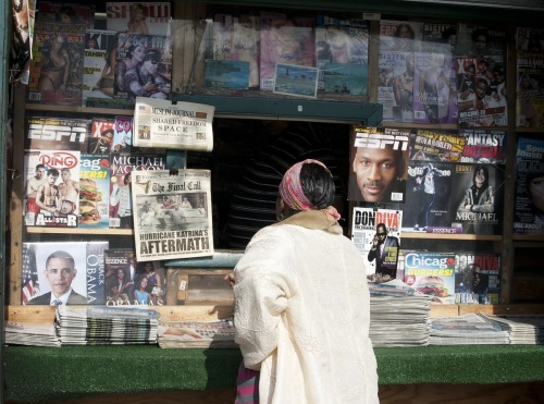 Newsstand, Hyde Park, Chicago, 2009