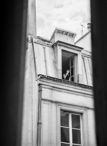 La Voyeuse by     Scott Brill Photography