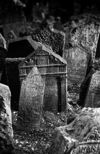 Jewish Cemetery no. 1, Prague 2001 by Scott Alan Brill