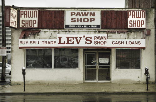 Lev's Pawn Shop, 2014 by Scott Brill Fine Art Photography