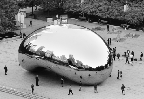 Cloud Gate, 2015 by         Scott Brill Photography