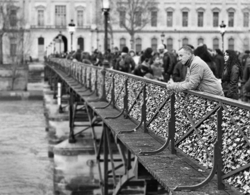 Pont des Arts, 2014 by         Scott Brill Photography