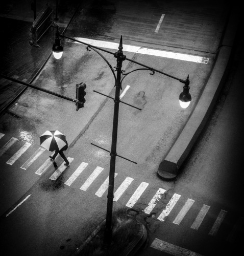 Crosswalk, Chicago 2018