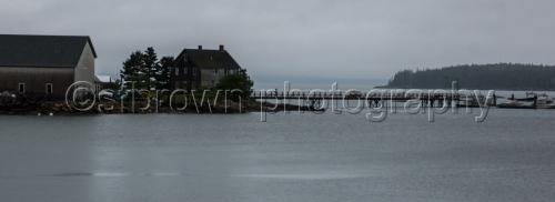 Rainy Morning in Southwest Harbor