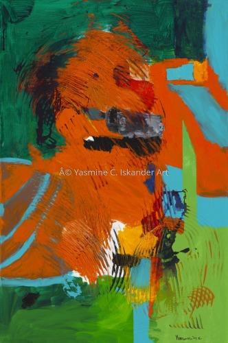 Dragon by Yasmine C. Iskander Art