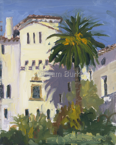 Santa Barbara Court House Jail by Sam Burke